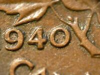 1940 CENT ZOELL R63C DOUBLED 40 AVERAGE CONDITION