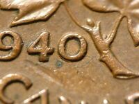 1940 CENT ZOELL R63E VARIANT DOUBLED 0