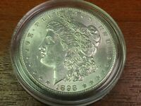 1898-O MORGAN SILVER DOLLAR AU/BU BEAUTIFUL COIN  LUSTER
