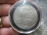 1787 SPAINISH COLONIAL PILLAR DOLLAR 8 REAL SILVER COIN IN G
