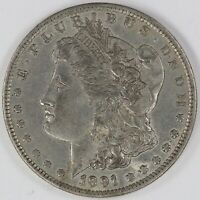 1891-O MORGAN DOLLAR, CIRCULATED LFRAW0410/UH