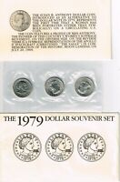 1979 SUSAN ANTHONY DOLLAR SOUVENIR SET USA MINT
