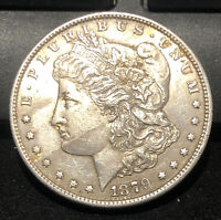 1879-S MORGAN SILVER DOLLAR USA COLLECTIBLE COIN