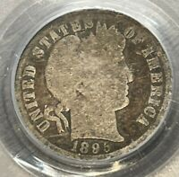 1895 O BARBER DIME PCGS G4 LOW MINTAGE RARE KEY DATE 99 CENT
