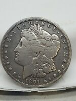1891 CC MORGAN SILVER DOLLAR $1 GREAT BOOK FILLER NO RESERVE
