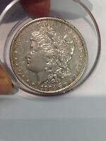 1904-P VAM 6A MORGAN DOUBLED PROFILE/PITTING REV/OBV VARIETY SILVER ONE DOLLAR