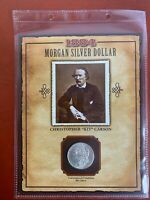 1884 O  MORGAN SILVER DOLLAR FROM OLD WEST COINS & STAMPS SET