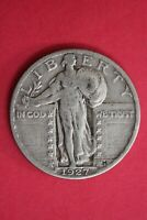 1927 P STANDING LIBERTY SILVER QUARTER EXACT COIN SHOWN COMBINED SHIPPING OCE 22