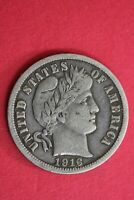 1916 P BARBER LIBERTY DIME EXACT COIN SHOWN COMBINED FLAT RATE SHIPPING OCE 47