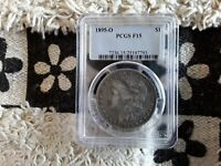 PCGS 1895 O MORGAN DOLLAR F15