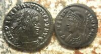 LOT OF 2 ABOUT VF  CONSTANTINE I AND CONSTANTINOPLE COMMEMORATIVE