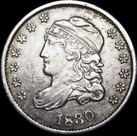 1830 CAPPED BUST HALF DIME SILVER ----  TYPE COIN ----  M267