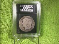 1895 O MORGAN SILVER DOLLAR  MINTAGE 450,000 IN GUARDHOUSE SLAB AG