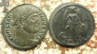 LOT OF 2 ABOUT EF CONSTANTINE I AND CONSTANTINOPLE COMMEMORATIVE