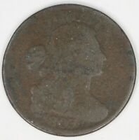 1803 DRAPED BUST LARGE CENT. SMALL DATE, LARGE FRACTION. RAW4358/SH