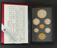CANADA DOUBLE DOLLAR PROOF SETS 1990 1997 COMPLETE 8 SETS