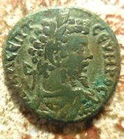 VF  FOR TYPE: THRACE ANCHIALUS. SEPTIMIUS SEVERUS. A.D. 193 211. PENTASSARION