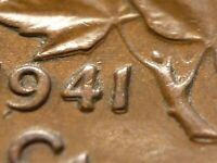 1941 CENT ZOELL R64B DOUBLED 41