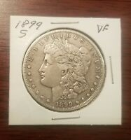 1899 S MORGAN SILVER DOLLAR  APPEARS TO BE  VF