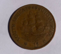 CLIPPER SHIP PENNY OF KING GEORGES VI
