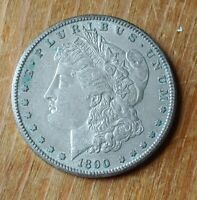 1890 S SILVER MORGAN DOLLAR