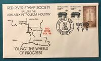 10.1 CENT STAMP ARLATEX PETROLEUM INDUSTRY OILING THE WHEELS