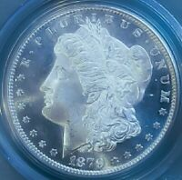 1879 S MINT STATE 67 MORGAN SILVER DOLLAR / PL/PROOF LIKE LOOK/ SO PQ.