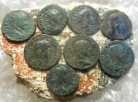 LOT OF 8 ABOUT VF TO VF  ANCIENT BITHYNIA NICAEA COINS LARGE