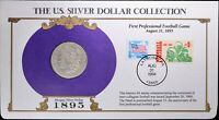1895-S U.S. SILVER DOLLAR COLLECTION MORGAN FDC 1994 COIN & STAMP NEW ORLEANS
