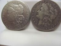 MORGAN DOLLARS, BETTER DATES, 1878 TO 1903, 5 COINS, CIRCULATED