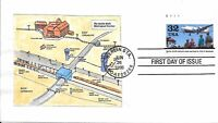 US 3211 HUSSEY 2/6   BERLIN AIRLIFT 50TH ANNIVERSARY