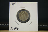 1883 SEATED LIBERTY DIME SILVER LOT M416