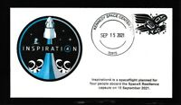 NORWOOD CACHET SPACEX INSPIRATION 4 LAUNCH COVER