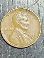 KEY DATE 1931 S WHEAT PENNY   US COINS