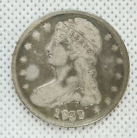 1839   P CAPPED BUST SILVER HALF DOLLAR | US COIN
