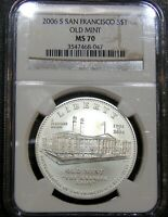 2006 S SAN FRANCISCO OLD MINT COMMEMORATIVE SILVER $1 ONE DO