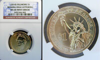 2010 FILLMORE MISSING EDGE LETTERS NGC MINT STATE 68