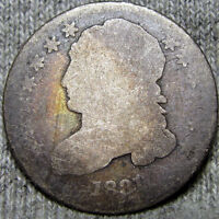 1831 CAPPED BUST DIME SILVER US TYPE COIN        NICE       P673