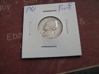401961 PROOFJEFFERSON NICKELS SHIPPED IN COIN TUBE A