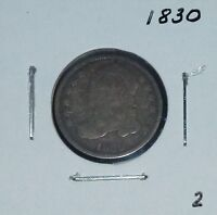 1830 CAPPED BUST DIME   !!!  2