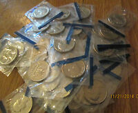WASHINGTON QUARTERS 81P UNCIRCULATED  40 PC CUT OUT FROM MINT SET BU 1981P Q