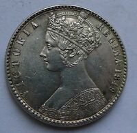FLORIN VICTORIA GOTHIC GODLESS 1849 EF .925 SILVER