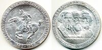 STERLING SILVER MEDAL: PONY EXPRESS CENTENNIAL:1860 1960:SO CALLED $ HK 582 MINT