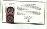 1999 GEORGIA STATE QUARTER FIRST DAY COVER GOVERNMENT SEALED 1846C