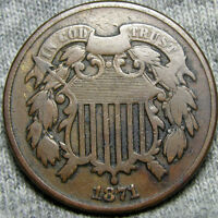 1871 TWO CENT PIECE 2CP   --- I REVIEW ALL OFFERS --- P012