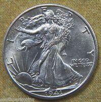 1941 D WALKING LIBERTY HALF DOLLAR   UNCIRCULATED