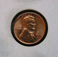 1956 D UNCIRCULATED2 RED 28J LINCOLN WHEAT CENT WHY PAY MORE?