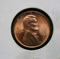 1953 D UNCIRCULATED3 RED 28J LINCOLN WHEAT CENT WHY PAY MORE?