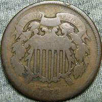 1864 TWO CENT PIECE 2CP TYPE COIN ---- MAKE AN OFFER ---- V910