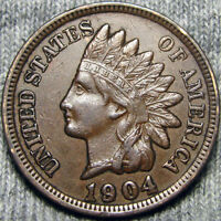 1904 INDIAN CENT US PENNY       I REVIEW ALL OFFERS       P569